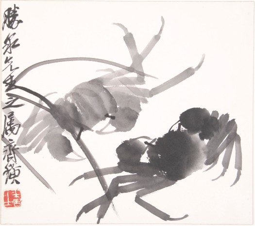 QI BAISHI, Crabs, c. 1930